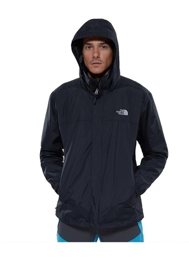 The North Face Resolve 2 Erkek Yağmurluk Siyah Siyah